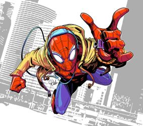 Spider man homecoming color by ordo1010