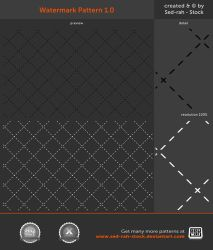 Watermark Pattern 1.0 by Sed-rah-Stock