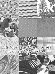 Fabric Texture Brushes 2 by candymgunn