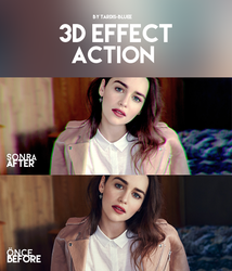 Action - 3D Effect by Tardis-Bluee
