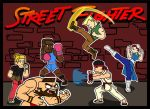 Street Fighter Poster Fixed by Allodoxa85