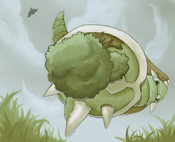 Torterra used Tackle