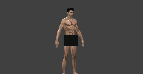 DANTE NAKED FROM GMOD by Oo-FiL-oO
