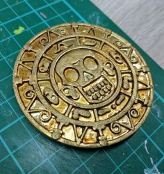 Aztec gold from pirates of the caribbean by scampy001