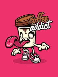 Coffee Addict by cronobreaker