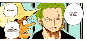 Zoro by bluephoenix9