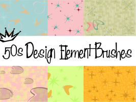 50s Design-Element Brushes by MaxPowersXx