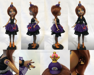 Waluigette doll by Evilunicorn97