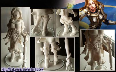 Lux fimo clay - League of Legends by LadyAlerie