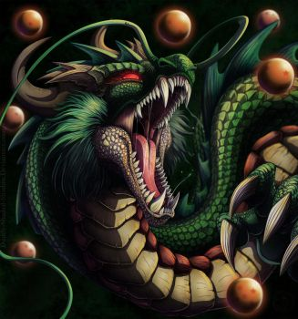 Shenron the Eternal Dragon by darkly-shaded-shadow