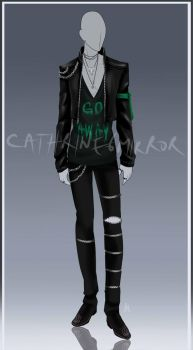 (CLOSED) Adopt Auction - Outfit 23 by cathrine6mirror