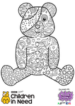 Colour me Pudsey by Froodals Doodals by Froodals