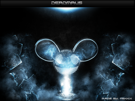 Deadmau5 Fan Art (blue) by Tekkix