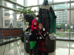 Chillin with Drizzt by black-angel-kitteh