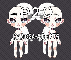 P2U Twins Base by Kariosa-Adopts