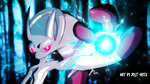 Mewtwo's Aura Sphere by Just-Reez