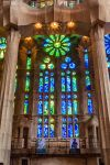 Sagrada Famila Interior Stained Glass Windows by TarJakArt