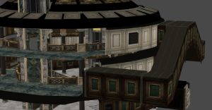 RESIDENT EVIL REVELATIONS MAIN HALL by Oo-FiL-oO