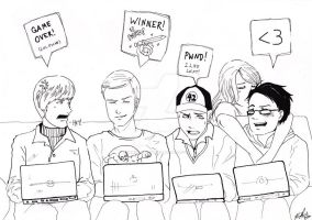 Big Bang Theory by taintedfeather