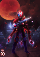 Blood moon Talon by Twigileia