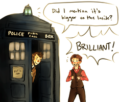 Arthur Shappey, steward of the TARDIS! by cannorachan