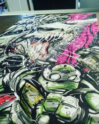 TMNT NO WAY OUT by ARTOFSAPO