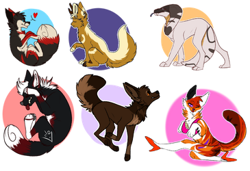 The Chibis by serval-kisses