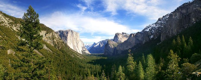 Yosemite: Tunnel View by floesse