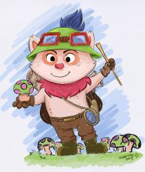 Captain Teemo :3 by Frog-FrogBR