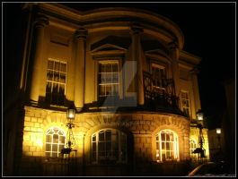 Devizes Town Hall by Lunapic