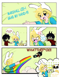 Grab my_ Fionna and Marshall Lee by Neko-Hibi