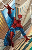 THE AMAZING SPIDER MAN by DAVID-OCAMPO