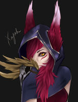 Xayah by goldenncat