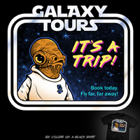 Galaxy Tours - tee by InfinityWave