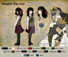 Character Sheet: Heather by vickie-believe