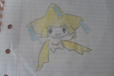 Jirachi by I-Am-Dark-Link