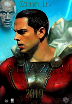 Shazam 2019 Movie Poster by TylerCluberlang