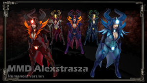 [MMD Commission] Dark Queen Alexstrasza (part.1) by Riveda1972