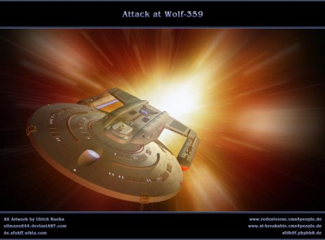 STAR TREK - ICICLE: Attack at Wolf-359 by ulimann644