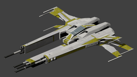 Cwn Annwn Endo\Exo Atmospheric fighter by wbyrd