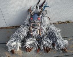 Amos Sabertooth doll by missmonster