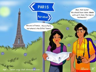 Disney Tourists - France by Sweet-Amy-Leah