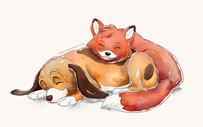 Fox And The Hound - Sweet Dreams by Singarl