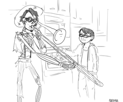When Imelda isn't home by abadooba