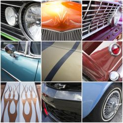 Car Collage III by 0xkyleax0