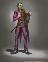 The Joker by Raggedy-Annedroid
