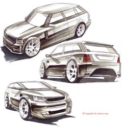 Modified Range Rovers by ewbj