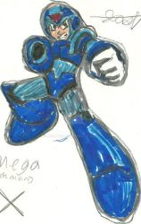 Mega Man X by Joshtrip1