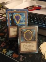 Jet And Sapphire Alters by Hurley-Burley-Alters