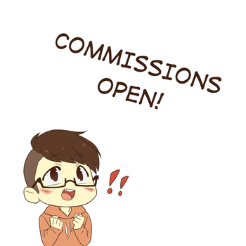 COMMISSIONS OPEN! by Toradora5683
